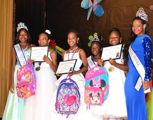 Miss Teen Promise Princess 2014 Essay Winners: Rayla Johnson, Amya Smith and Destine Brown