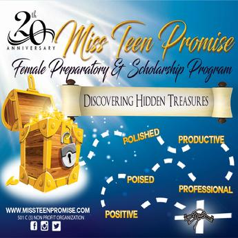 Register by May 15 and win two keys that could unlock the Miss Teen Promise Hidden Treasure Chest!